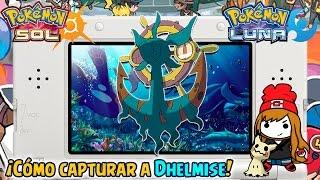 Dhelmise  - (Pokémon) - ¡Cómo capturar a Dhelmise!  - Pokémon Sol y Luna