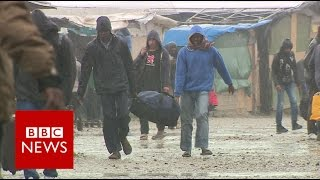 Migrant route: Balkans to Calais- BBC News