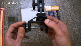 Pedco UltraClamp Assembly Camera Mount Clamp Review