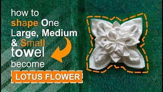 LOTUS FLOWER - TOWEL DESIGN