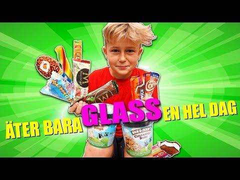 ÄTER BARA GLASS EN HEL DAG! (stor FAQ)