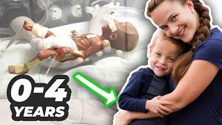 Micro Preemie to 4 Years Old | 23 Week Baby Survival Story Update