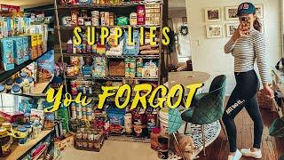 Coronavirus  Prepping And Lockdown Supplies | Prepper Emergency Supplies | Lauren Stewart