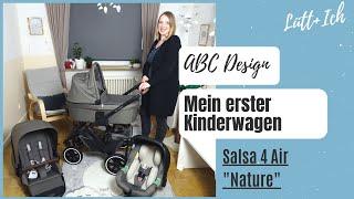 """Mein Kinderwagen   ABC Design Salsa 4 Air """"Nature""""   Unboxing und Vorstellung"""