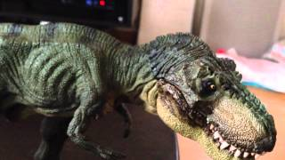 超リアル!!PAPOティラノサウルス開封!