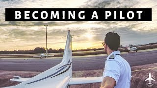 HOW TO BECOME AN AIRLINE PILOT | Pathways to building your flight time - Flyingwithgarrett EP2