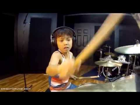Wright Drum School - Rush YYZ By Joh Kotoda - Drum Cover