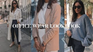WORKWEAR OUTFIT IDEAS | HOW TO STYLE NEUTRALS LOOKBOOK
