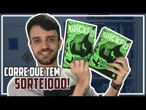 SORTEIO + RESENHA DE WICKED - A HISTÓRIA NÃO CONTADA DAS BRUXAS DE OZ!!!! | Meu Livro e Eu