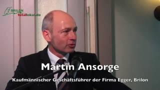 Festansprache: Martin Ansorge am Sonntag, 15.01.2017