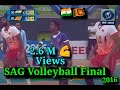 2016   South Asian Games   Volleyball   Men's Final   India vs Sri Lanka