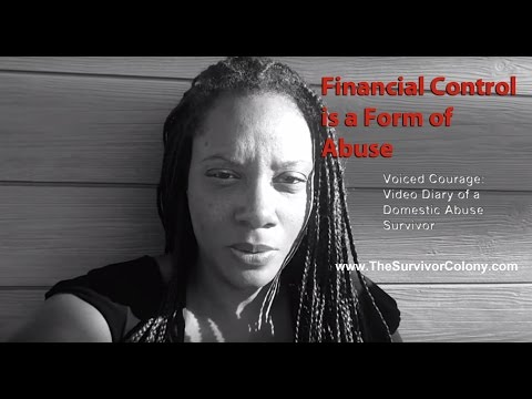 Financial Control is a Form of Abuse