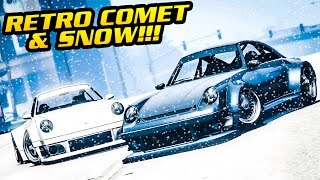 GTA Online: SNOW IS LIVE + NEW COMET RETRO CUSTOM! (Snowball Fights & More)