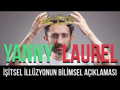 Laurel mi duyuyorsunuz Yanny mi? İşitsel illüzyonun bilimsel açıklaması