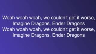 """Dragons"" a Minecraft Parody of Radioactive [2 hour loop] [Lyrics]"