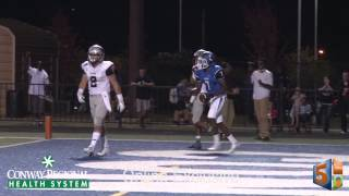 Marquis Pleasant 30-yard TD Reception Against Siloam Springs