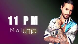Maluma   11 PM [Letra   Lyrics]