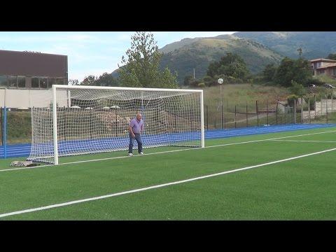 inaugurazione  campo sportivo in  erba sintetica