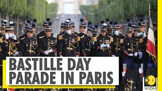 France Marks its national day | President Macron presides over Bastille day parade  IMAGES, GIF, ANIMATED GIF, WALLPAPER, STICKER FOR WHATSAPP & FACEBOOK