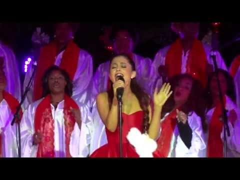 """Ariana Grande - """"All I Want For Christmas Is You"""" [Mariah Carey cover] (Live in L.A. 11-10-12)"""