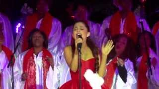 "Ariana Grande - ""All I Want For Christmas Is You"" [Mariah Carey cover] (Live in L.A. 11-10-12)"