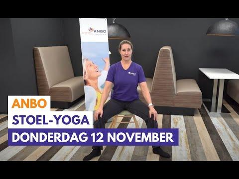Stoelyoga met Monique - donderdag 12 november