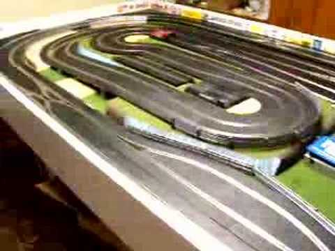 my slot car track july 2007