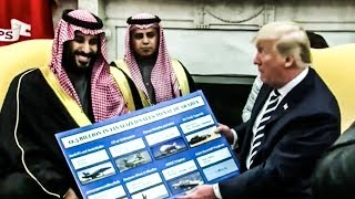 Trump Makes Total Ass Of Himself In Front of Saudi Crown Prince