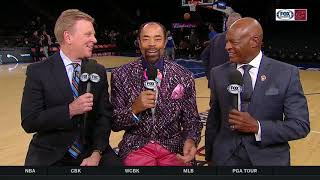 Austin Carr, Fred McLeod briefly discuss Walt 'Clyde' Frazier's time with the Cleveland Cavaliers