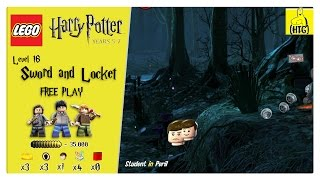 Lego Harry Potter Years 5-7: Lvl 16 / Sword And Locket FREE PLAY (All Collectibles) - HTG