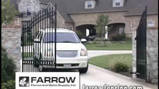 Farrow Fencing - Wrought Iron Gates & Fences - Frisco Texas