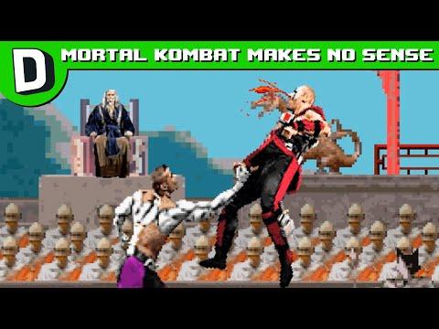 Proč Mortal Kombat nedává smysl - Dorkly Bits