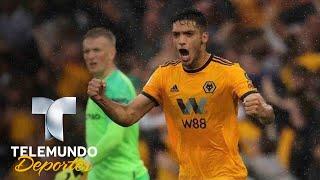 El debut salvador de Raúl Jiménez con los Wolves | Premier League | Telemundo Deportes