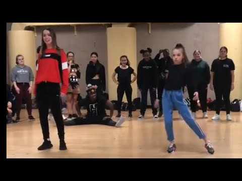 Reese Hatala in Taylor Hatala's class ,road to buildabeast