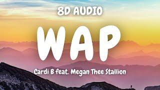 Cardi B - WAP feat. Megan Thee Stallion (8D AUDIO) 🎧