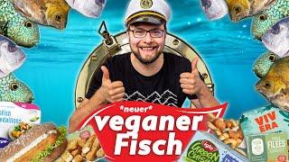 Neue vegane Fisch Produkte im Test 08/21