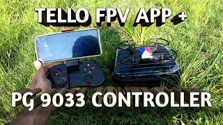 Buyboytv TELLO DRONE TEST FPV APP IPEGA PG 9033 CONTROLLER