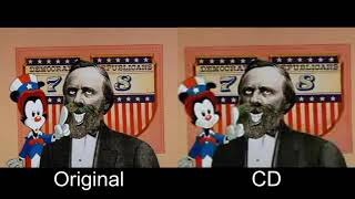 Animaniacs | The Presidents Song | Comparison