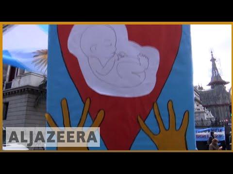 🇦🇷 Argentina abortion: lower house votes for legalisation   Al Jazeera English