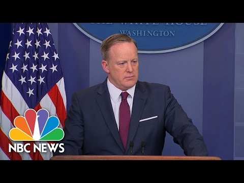 Sean Spicer: 'The President Understands This Is It' For Health Care | NBC News
