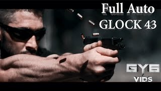 Full Auto GLOCK 43 ...and 100rd Drum Mag GRAND FINALE!