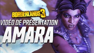 Borderlands 3 : Vidéo de Présentation - Amara