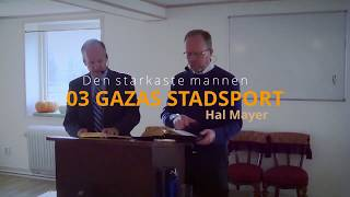 "03 ""Gazas stadsport"" – ""The Gates of Gaza"" – Hal Mayer"