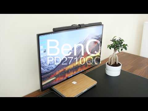 BEST 27 Inch Monitor of 2018! BenQ PD2710QC Review!
