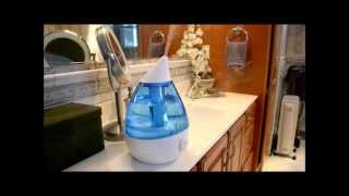 Crane Ultrasonic Cool Mist Humidifier Unboxing & Review