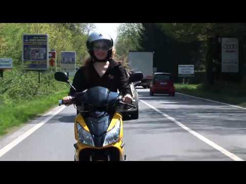 Aspes Sirio Hybrid 50cc, prova su strada 2010