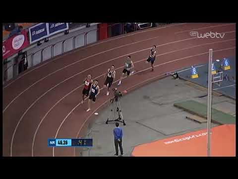 Νικητής ο Σπανδός του Ηρακλή στα 400 μέτρα! | 28/02/2020 | ΕΡΤ
