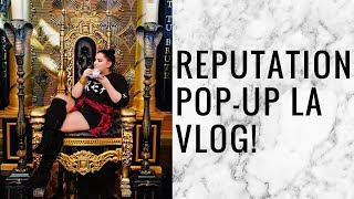 INSIDE TAYLOR SWIFT'S POP UP STORE LOS ANGELES | storiesinthedust