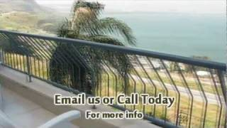 preview picture of video 'Tiberias Lake View Apartment'