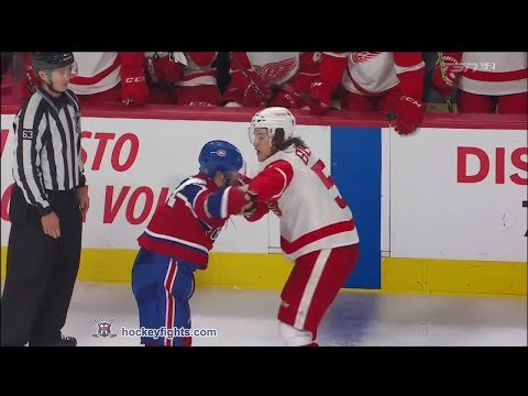 Xavier Ouellet vs. Tyler Bertuzzi